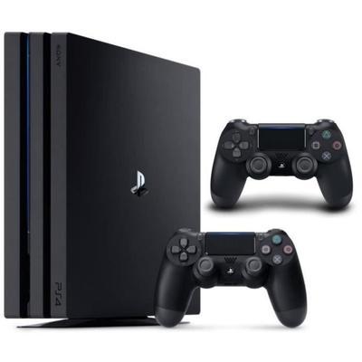 Console Sony PS4 Pro 1To + 2ème manette DualShock 4 Noire V2