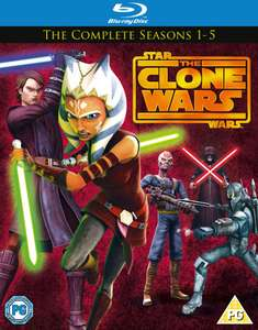 Blu-ray Star Wars : Clone Wars - The Complete Season 1 - 5