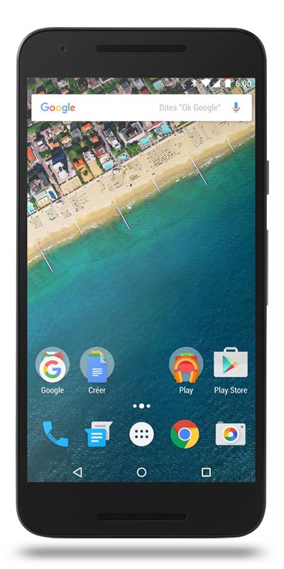 """Smartphone 5.2"""" LG Nexus 5x - 16Go - Leers (59)"""
