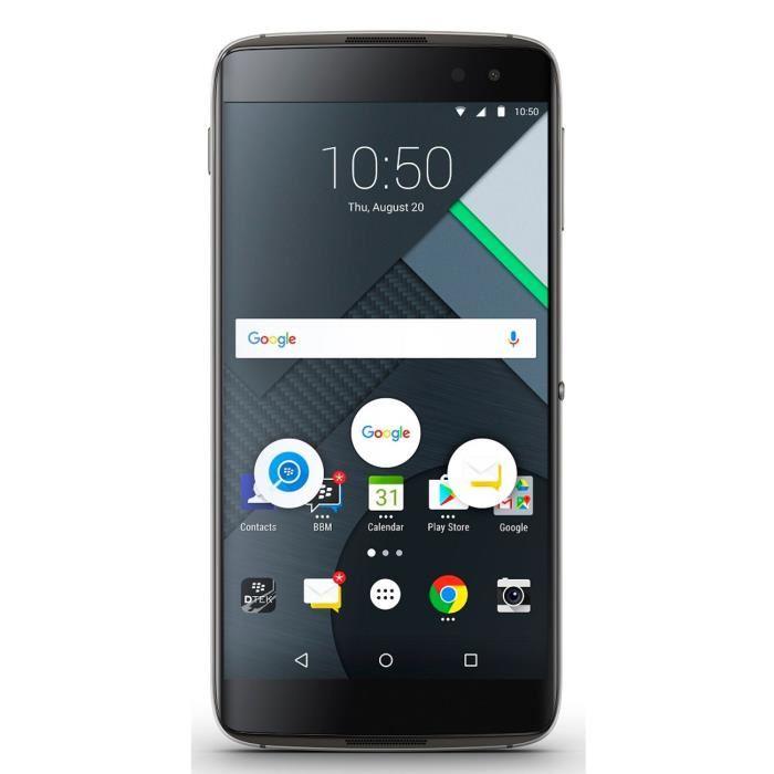 "Smartphone 5.5"" BlackBerry Dtek 60 - Quad HD, Snapdragon 820, RAM 4 Go, ROM 32 Go"
