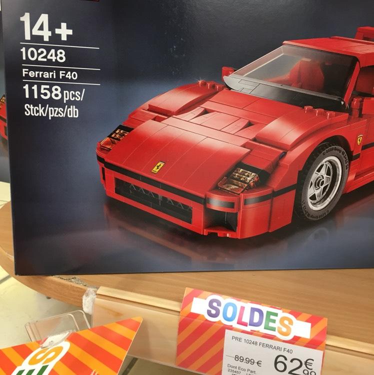 Lego Creator Expert La Ferrari F40 10248 - Chambéry (73)