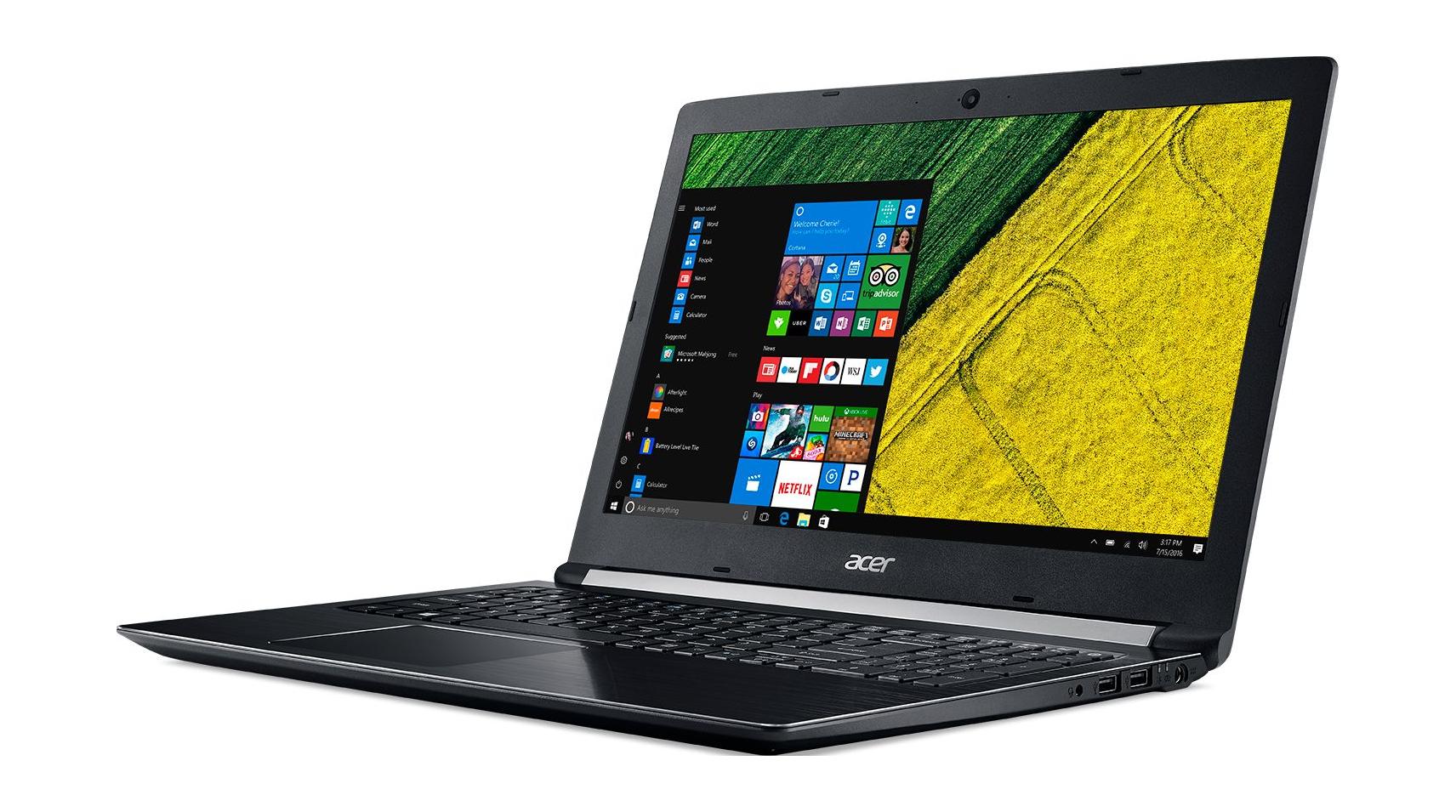 "PC Portable 15.6"" Acer Aspire A515-51G-70JR (FHD, Core i7-7500U, GeForce MX 150, 8Go RAM, 256Go SSD + 1To HDD)"