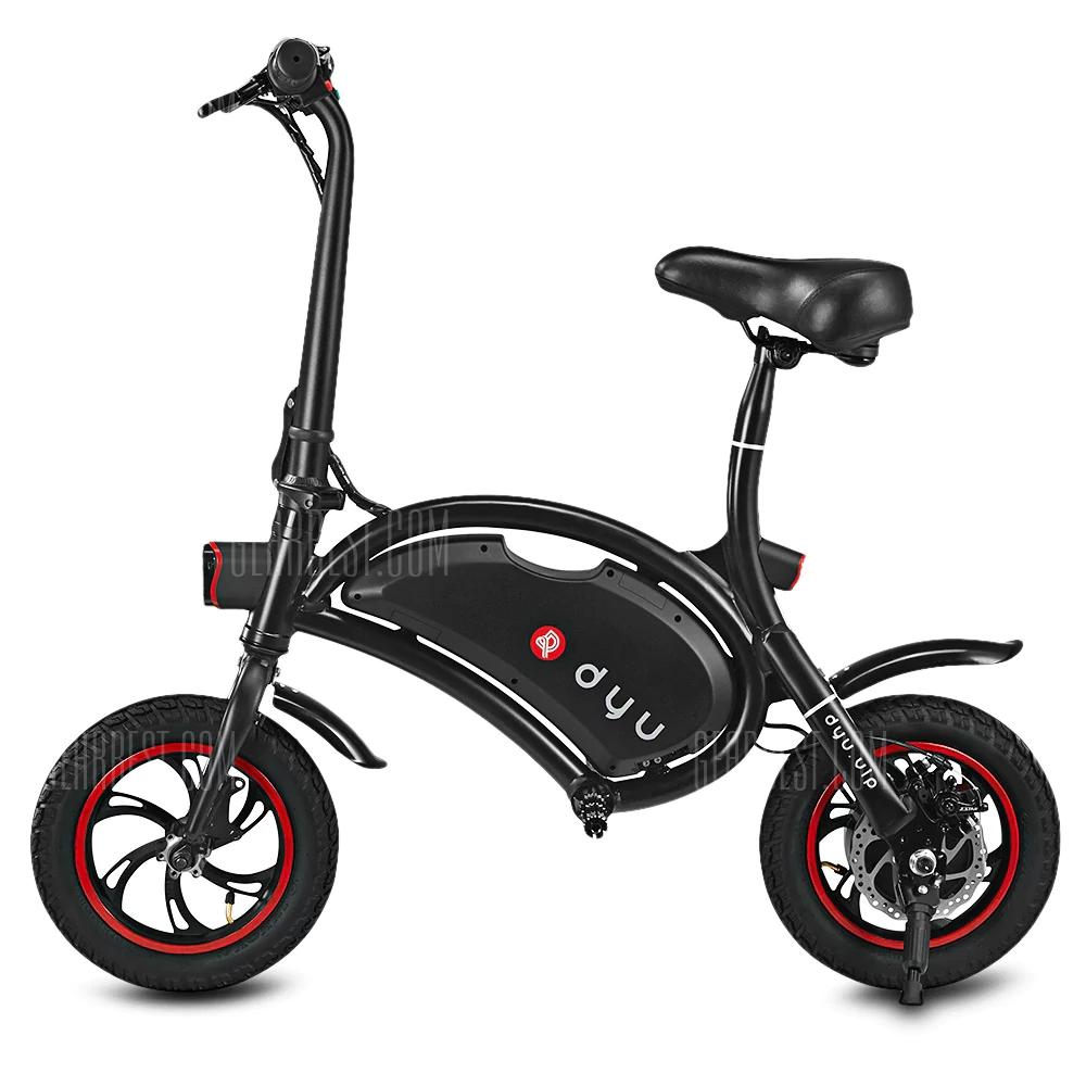 Vélo Electrique DYU -  Noir