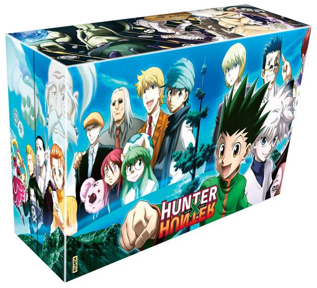 Coffret DVD Hunter X Hunter (2011) -  Série TV - 148 épisodes - 61h40