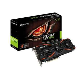 Carte graphique Gigabyte GeForce GTX 1080 Windforce 3 8Go GDDR5X