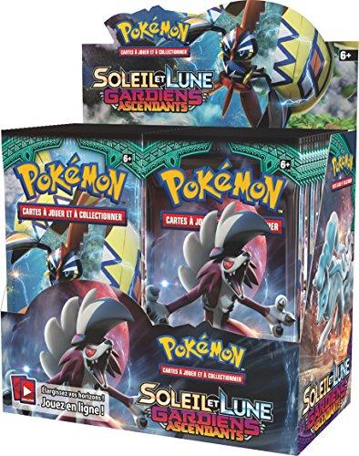 Pack de 36 Booster Pokémon Soleil et Lune Gardiens Ascendants (Version Française)