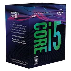 Processeur Intel Core i5-8400 Coffee Lake 6 cores 2.8 GHz