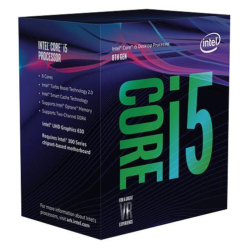 Processeur Intel Core i5-8400 Coffee Lake 6 cores 2.8 GHz