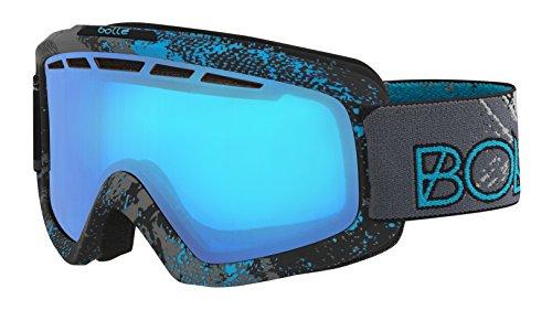 Masque de Ski Nova II matte blue zenith NXT modulator - Bleu vermillon [photochromatique]