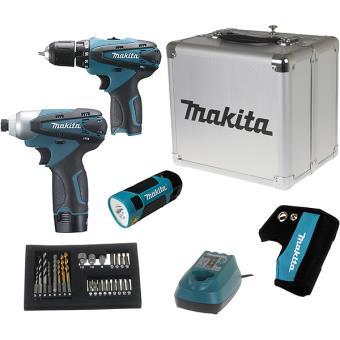 Coffret 3 machines Makita : DF330 + TD090 + ML101 | LCT303X