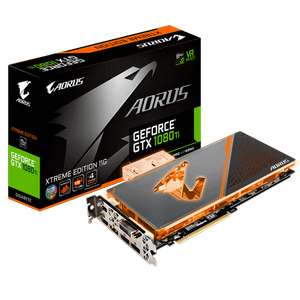 Carte Graphique Gigabyte GTX 1080Ti Aorus Waterforce wb - GV-N108TAORUSX WB-11GD