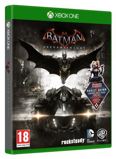 Jeu Batman Arkham Knight sur Xbox one