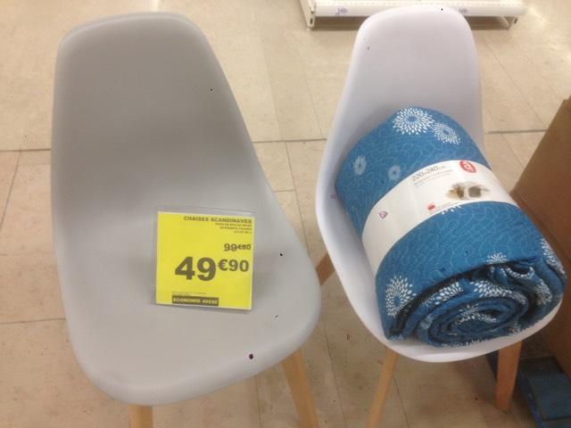 Lot de 2 chaises SACHA scandinaves - Vélizy 2 (78)