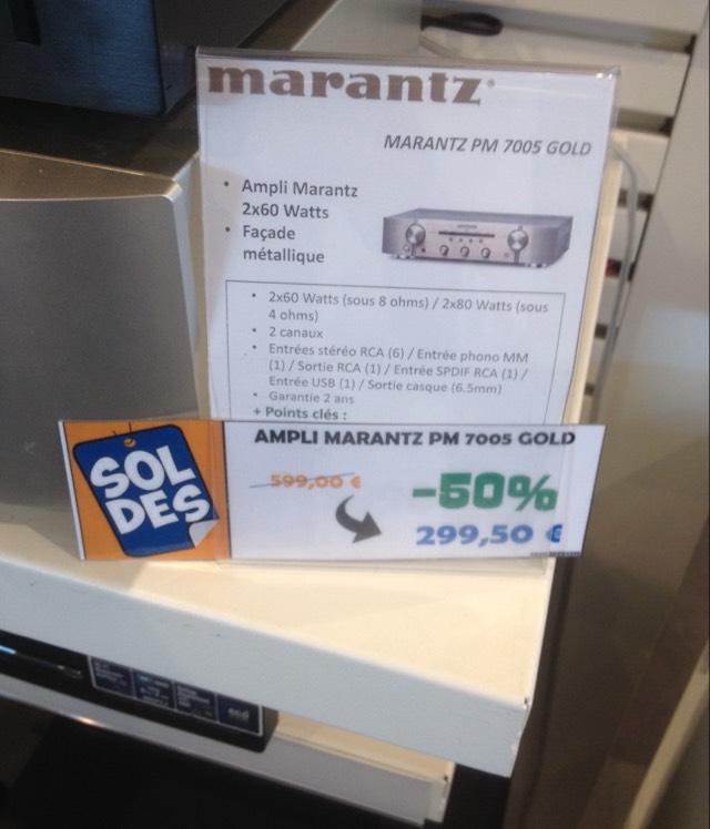 Sélection de Produits Hi-Fi en Promotion - Ex: Ampli Marantz PM7005 - Mont-de-Marsan (40)
