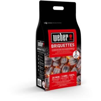 Sac de charbon de bois Weber - 4 Kg, briquettes