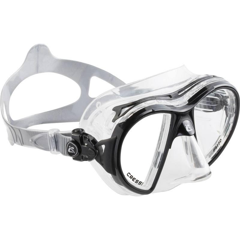 Masque de Plongée Air Crystal Cressi - Noir