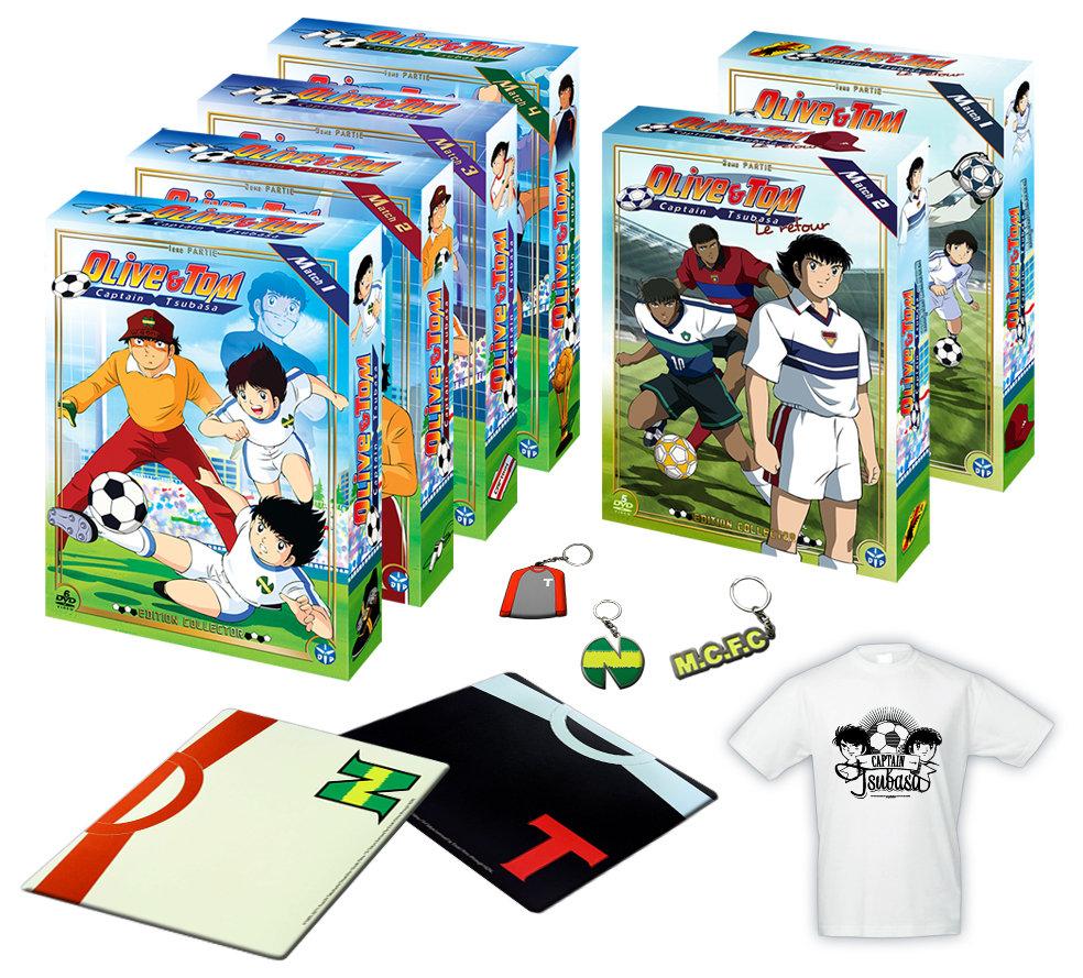 Pack 6 coffrets (34 DVD)  Olive et Tom intégrale (la 1er série + Retour)