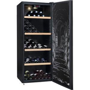 Cave à vin polyvalente ou de vieillissement Climadiff CLPP190  - 187 bouteilles - Pose libre - A - L 63 x H 169,5 cm