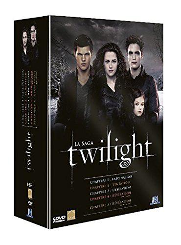 Coffret DVD Intégrale Twilight