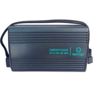 Convertisseur Watt And Co Convertisseur 24V-230V 300W USB 2A