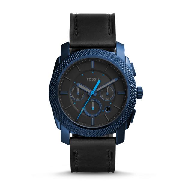 Jusqu'à 50% de réduction sur une sélection d'articles - Ex : Montre chronographe en cuir noir
