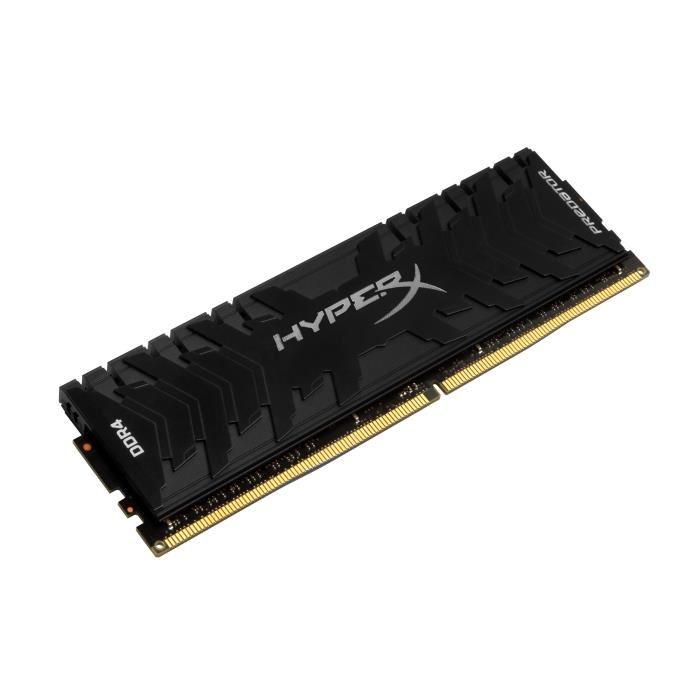 [Cdiscount à volonté] HYPERX Mémoire PC Predator - DDR4 - 16Go - 3000MHz - CL15 - DIMM XMP - HX430C15PB3/16