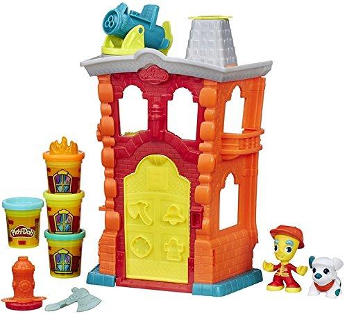 [Panier Plus] Play-Doh - B3415eu40 - Town - Maison Pompier