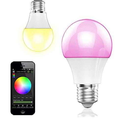 BOHMAIN E27 Ampoule à Intensité Variable avec LED Éclairage Bluetooth 4.0 (vendeur tiers)
