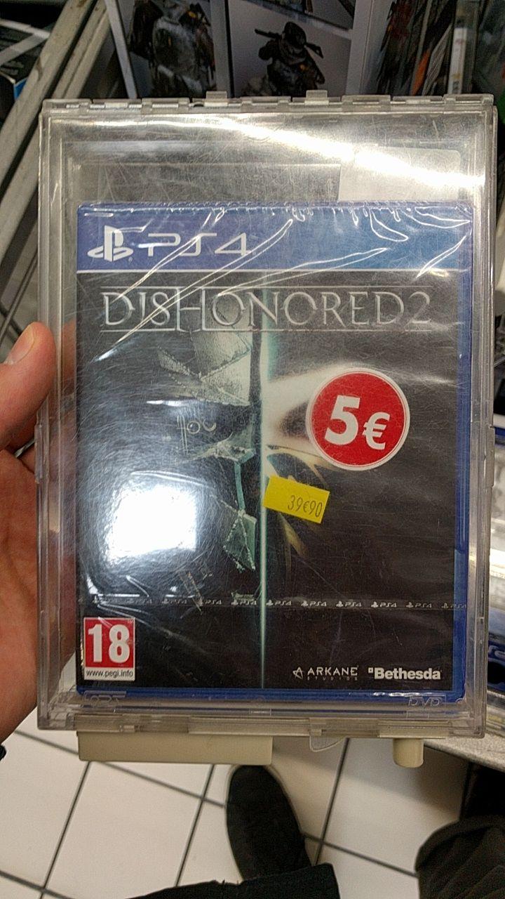 Sélection de jeux PS4 et Xbox One en promotion - Ex : Dishonored 2 - Givors (69)