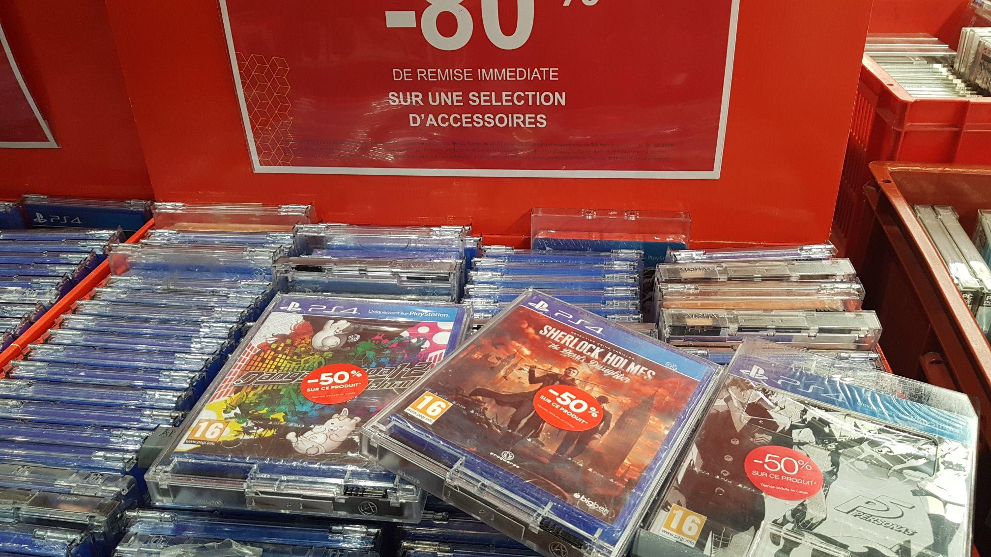 Sélection jeux vidéo en promotion - Ex : Persona 5 SteelBook Édition  - Italie 2 (75)