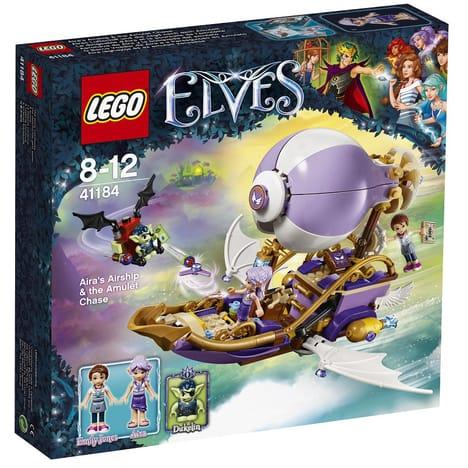 Jouet Lego Elves 41184 - Le dirigeable d'Aira et la poursuite de l'amulette