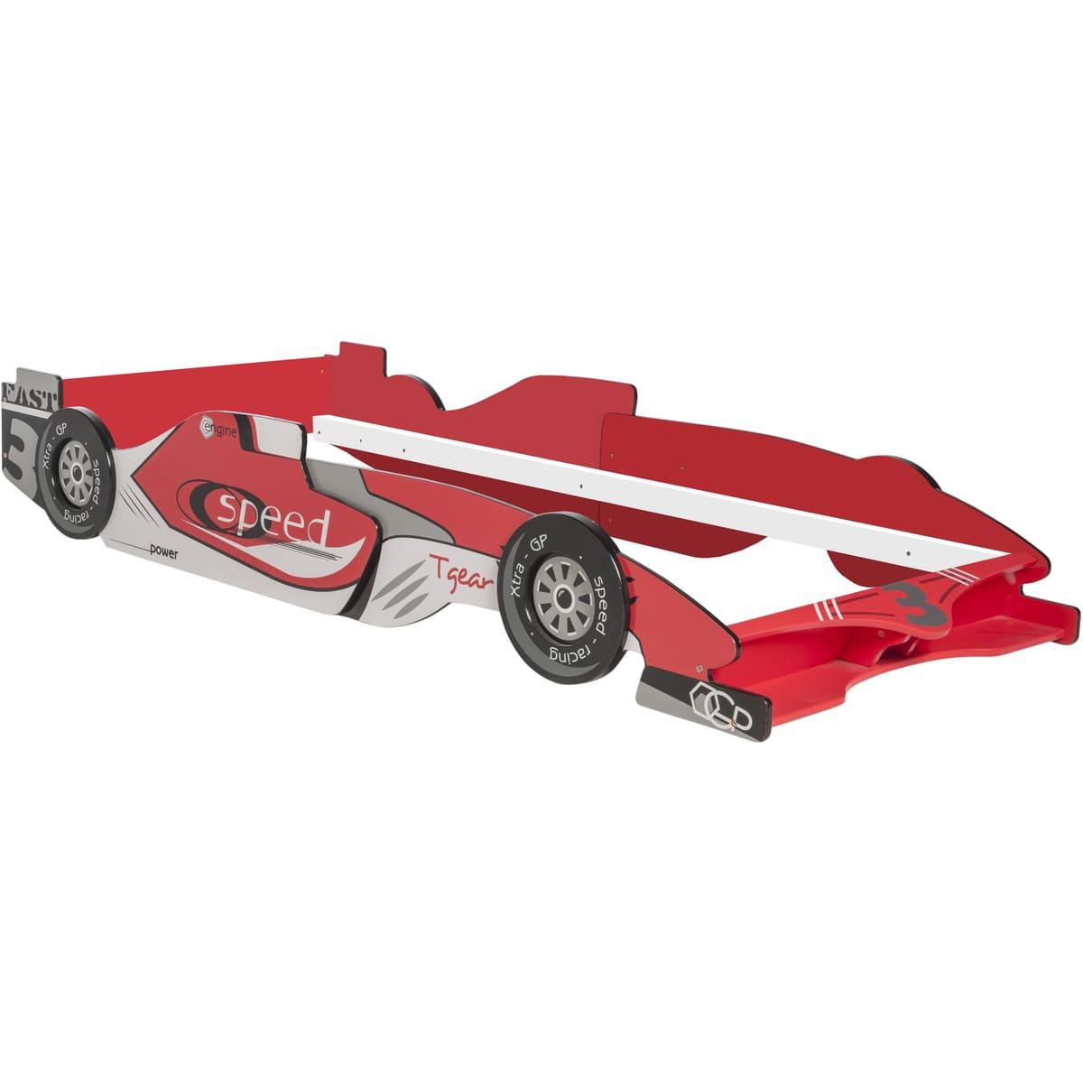 Lit voiture de course enfant extensible (90 x 190 cm)