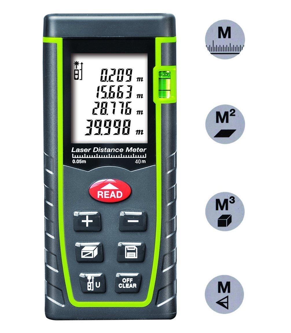Télémère laser KingTop E40 - 0.05 à 40 m de distance (vendeur tiers)
