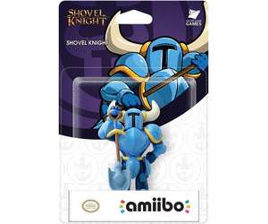 Sélection de figurines interactives Nintendo amiibo en promotion - Ex : Shovel Knight au Carrefour Purpan Toulouse (31)