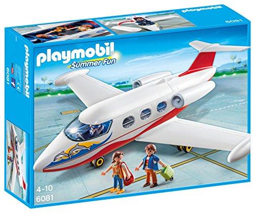 Jouet Playmobil Summer Fun - Avion avec pilote et touristes (6081) au Géant Casino Seynod (74)