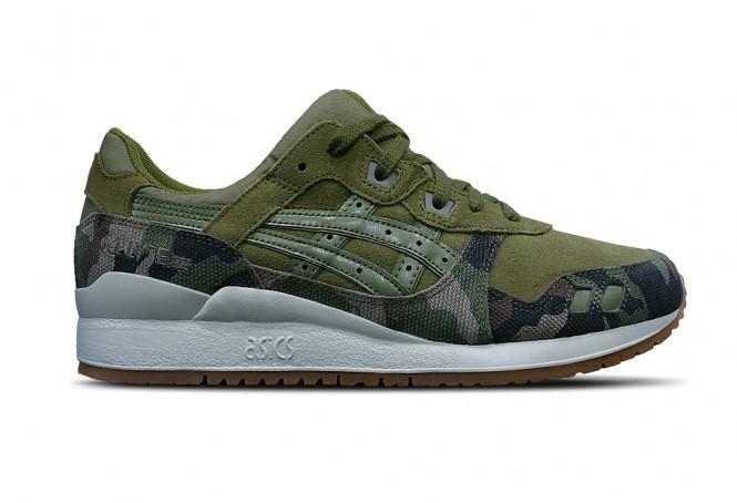 Chaussures Asics Gel Lyte III Martini Olivi - camouflage (du 42 au 44.5)
