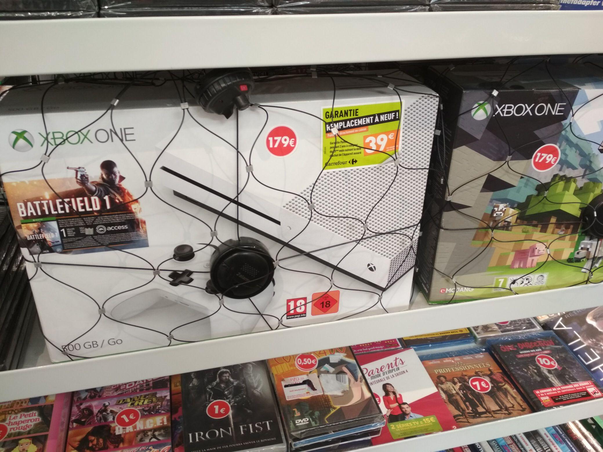 Console Xbox One S- 500 Go + Battlefield 1 (Mérignac - 33)