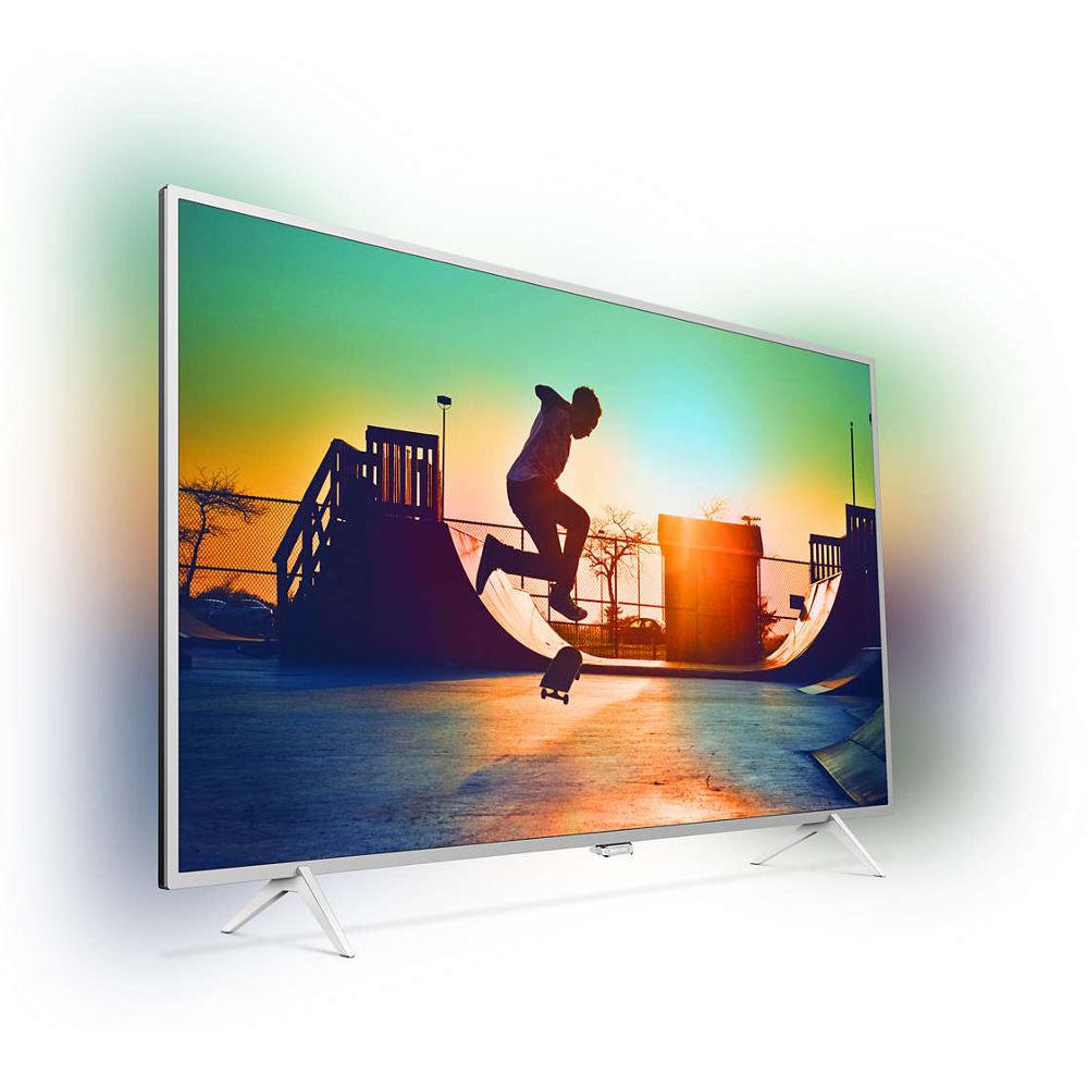 """TV 49"""" Philips 49PUS6432 - LED, 4K UHD, Smart TV, Ambilight 2 côtés, 4 HDMI (469.99€ pour les CDAV)"""