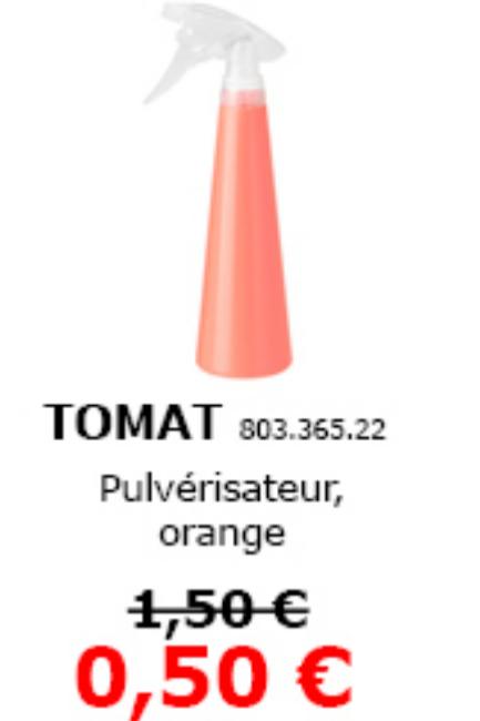Pulvérisateur TOMAT -  Évry 591°