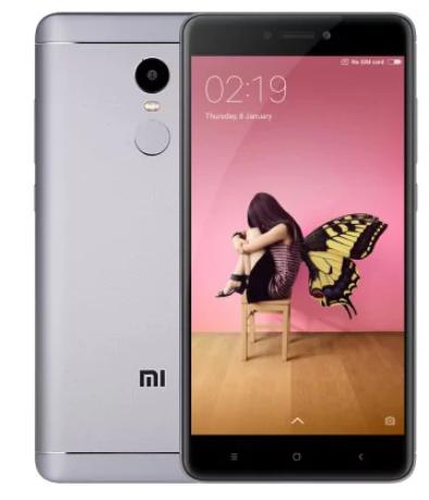 "Smartphone 5.5"" Xiaomi Redmi Note 4 (Global) Noir - Full HD, Snapdragon 625, RAM 3 Go, ROM 32 Go (B20) - Entrepôt Européen"