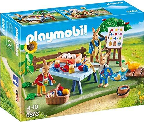 [Panier plus] Playmobil - 6863 - Jeu - Atelier Créatif avec Lapins