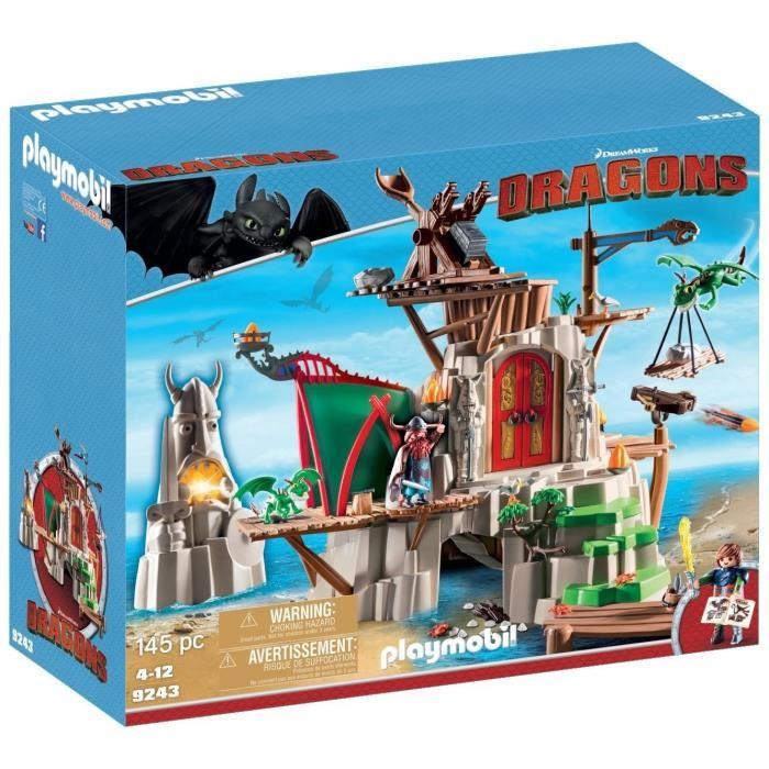 Playmobil 9243 Dragons - Campement de l'île de Beurk (Editions Limitées)