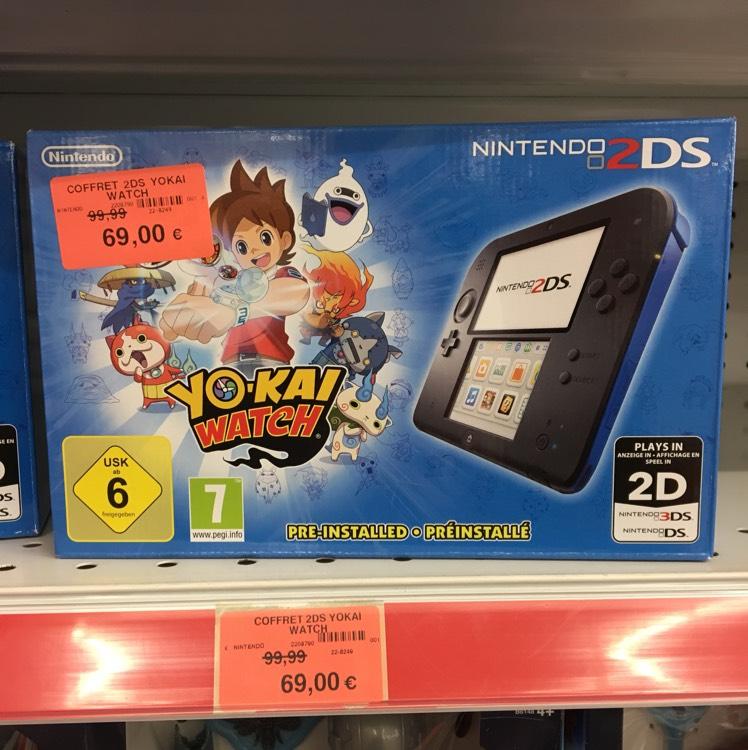 Nintendo 2DS + Yokai Watch ToysRUs - Île napoleon  (68)