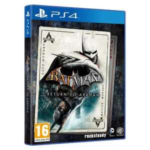 Batman : Return to Arkham PS4