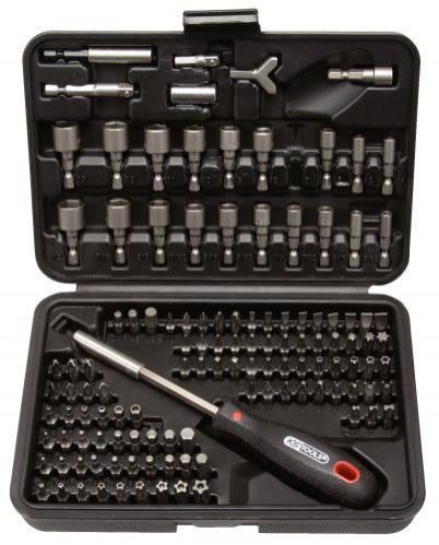 Coffret tournevis et embouts KS Tools 911.2085  -122 pièces, 0,6 cm