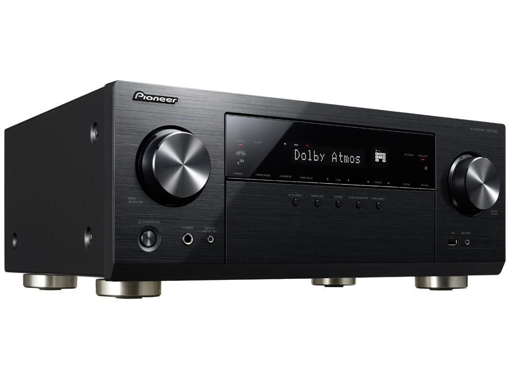 Ampli Home Cinéma 7.2 Pioneer VSX-932  Noir - Dolby Atmos 5.2.2, HDMI 2.0a, phono, DTSX