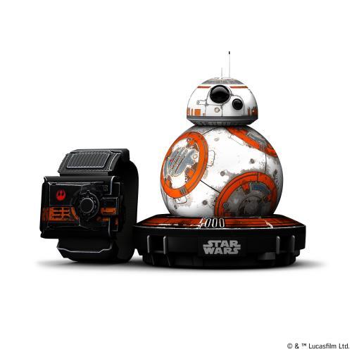 Robot droïde connecté BB-8 + Bracelet de contrôle Star Wars Force Band Sphero Edition Spéciale