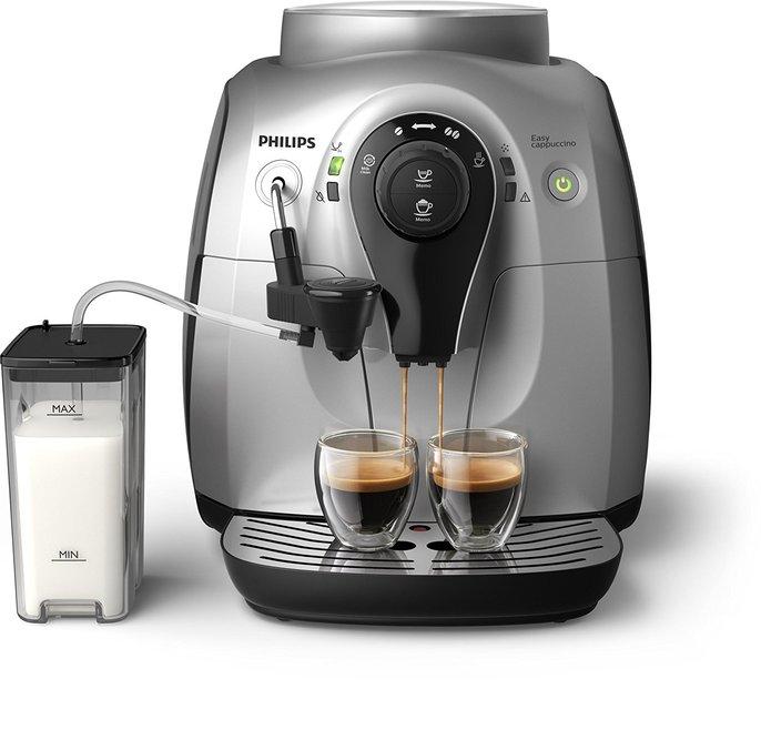 Machine à café automatique - Philips Serie 2100 Silver Cappuccino HD8652/51 StartPack
