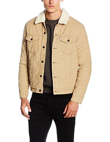 Veste droite en velours côtelé et doublure façon sherpa Levi's - Tailles S/L/XL/XXL