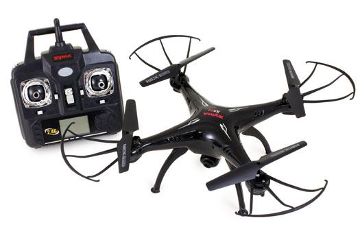 Drone Quadricoptère RC RTF SYMA X5SC - Caméra 2.0 MP, 2.4 GHz, 6 Axes
